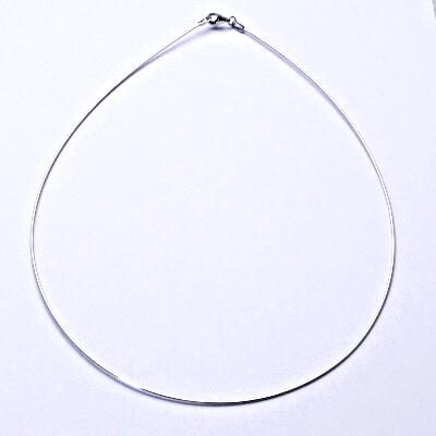 Stříbrná struna, struna na krk ze stříbra, stříbro,