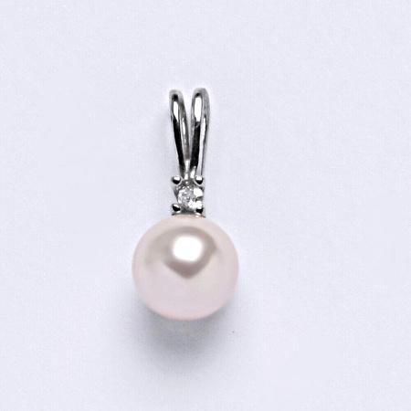Stříbrný přívěšek Swarovski perla rosaline P 1207A