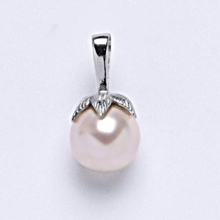 Stříbrný přívěšek Swarovski perla rosaline P 1348