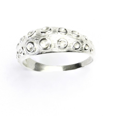 Stříbrný prsten, stříbrné šperky, chobotnice T 834