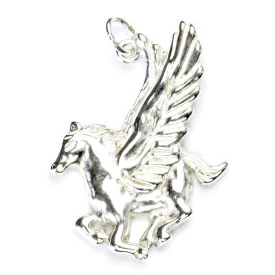 Stříbrný přívěsek, kůň, přívěšek ze stříbra, stříbro, P 352