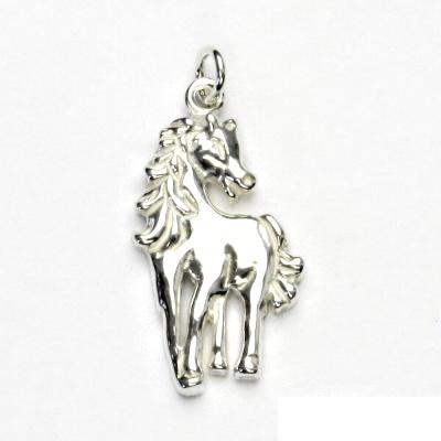 Stříbrný přívěsek, kůň, přívěšek ze stříbra, stříbro, koník, P 366