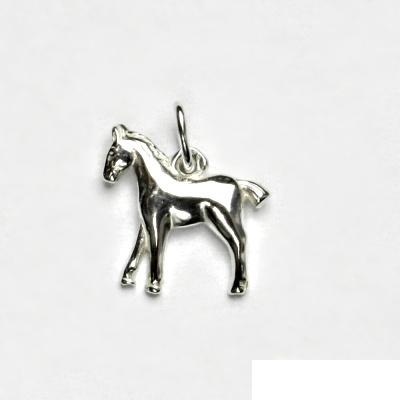 Stříbrný přívěsek, koník, přívěsek ze stříbra, stříbro, kůň, P 189