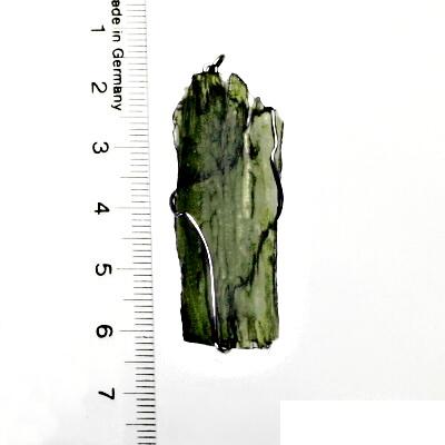 Přírodní vltavín, přívěsek ze stříbra, přívěsek s vltavínem, přívěšek, 5,86 g