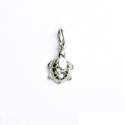 Stříbrný přívěsek, želva, přívěšek ze stříbra, šperky, P 741