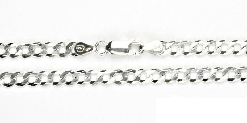 Stříbrný řetízek, řetízek ze stříbra, stříbro, silný řetízek, 10,71 g