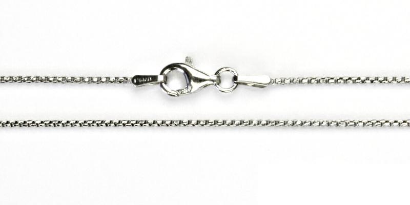 Stříbrný řetízek, stříbro, řetízek, slabý stříbrný řetízek, 2,88 g, 45 cm