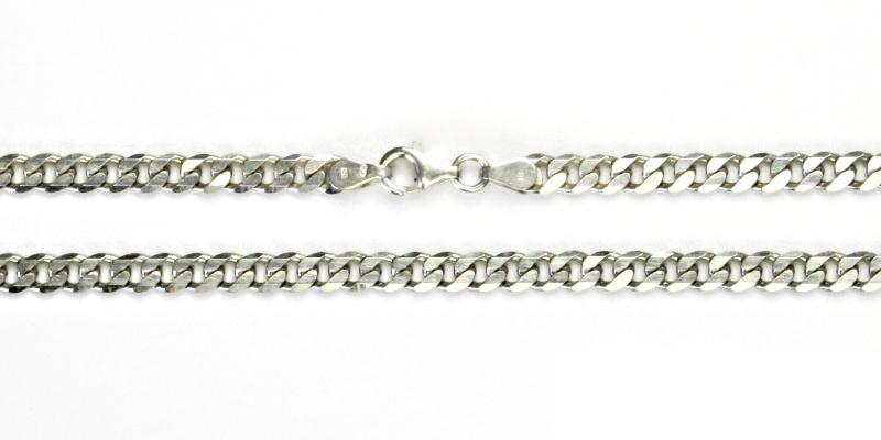 Stříbrný řetízek, řetízek ze stříbra, stříbro, silný řetízek, 11,28 g