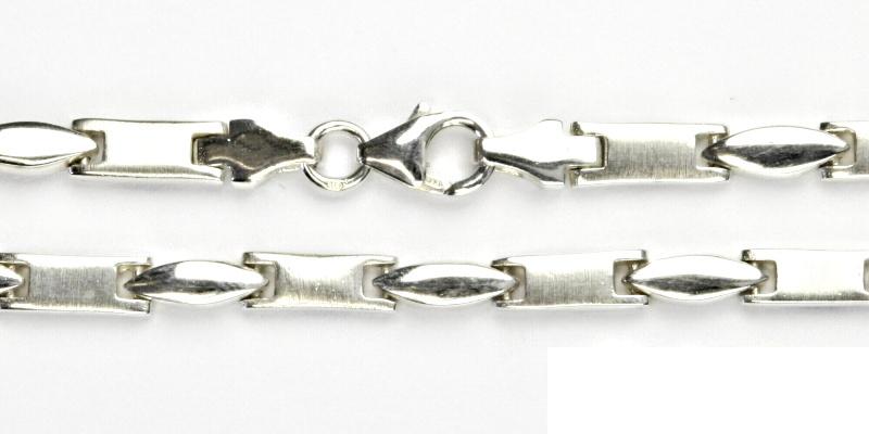 Stříbrný řetízek, silný stříbrný řetízek, stříbro, řetízek ze stříbra, 24,31 g, 45 cm