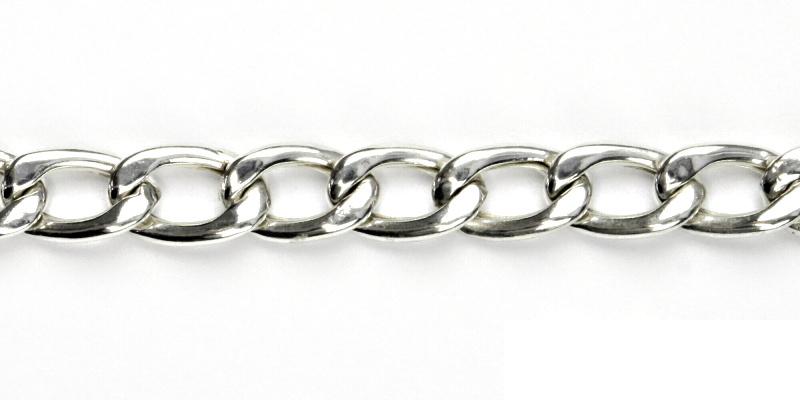 Stříbrný náramek, stříbro, náramek ze stříbra, 9,47 g, 20 cm