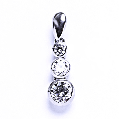 Přívěsky stříbrné se zirkony 000221501801 VP22