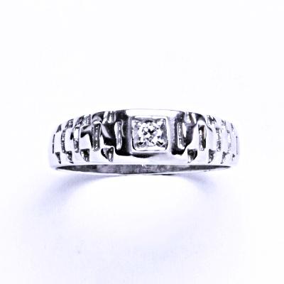 Prsten stříbrný prsten se zirkony VR 78