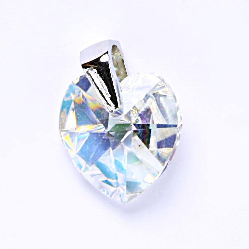 Stříbrný přívěšek, krystal Swarovski, šperky s krystaly, přívěsek ze stříbra, P 1285