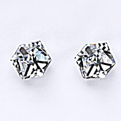 Stříbrné náušnice, krystal Swarovski, crystal, šperky s krystaly, NŠ 1230