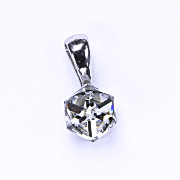 Stříbrný přívěšek, krystal Swarovski, crystal, šperky s krystaly, P 1230