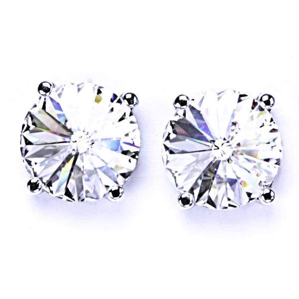 Stříbrné náušnice, krystal Swarovski, crystal, šperky s krystaly, NŠ 1188