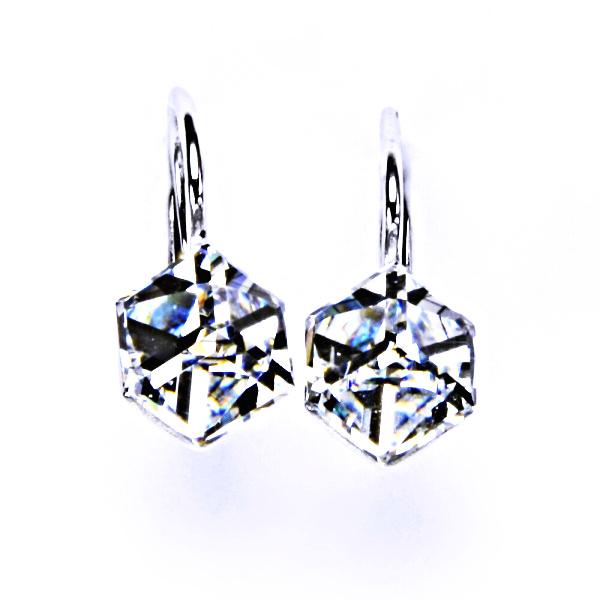 Stříbrné náušnice, krystal Swarovski, crystal, šperky s krystaly, NK 1230