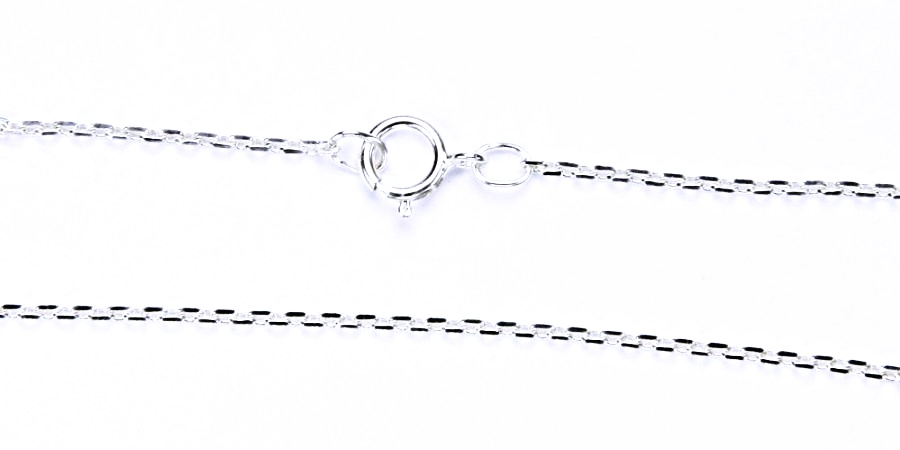 stříbrný řetízek ankr, řetízky ze stříbra, šperky Anker Cable MO4D 0,4