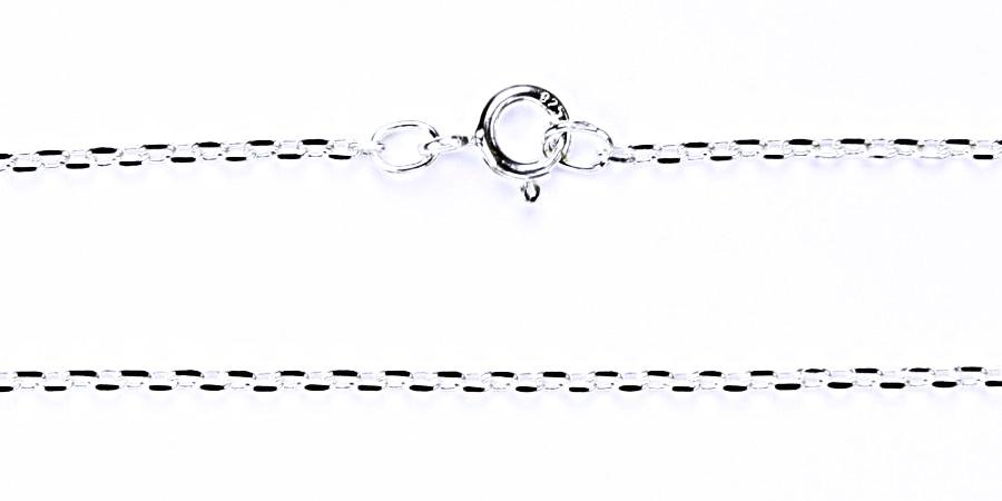 stříbrný řetízek ankr, řetízky ze stříbra, šperky CABLE MO4D 0,50