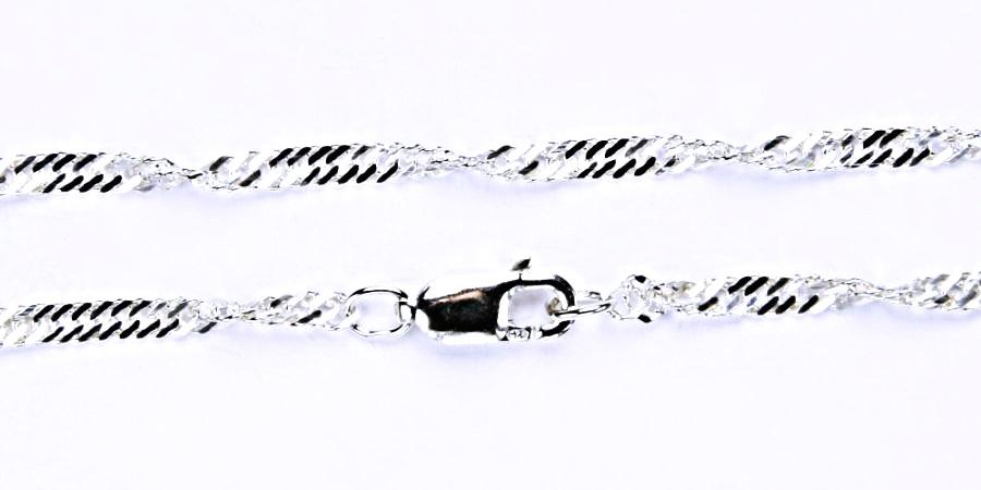 stříbrný řetízek lambáda, řetízky ze stříbra, šperky 1
