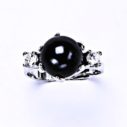 Stříbrný prsten šperky, T 1190