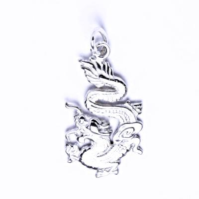 Stříbrný přívěšek, čínský drak, P 774