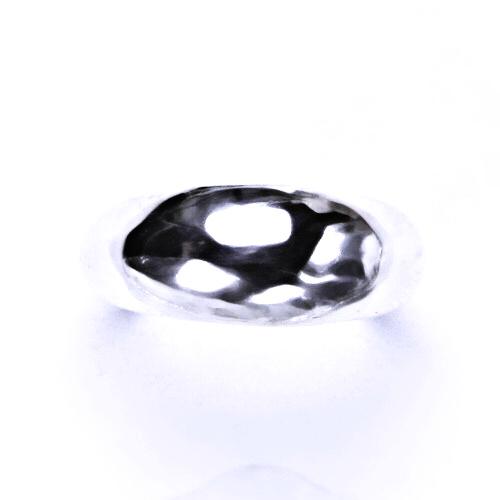 Stříbrný šperk, prsten ze stříbra, hladký T 830