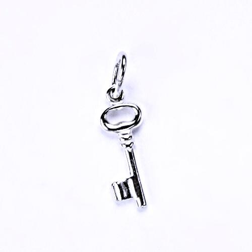 Stříbrný přívěšek, stříbrné šperky, klíček P 848