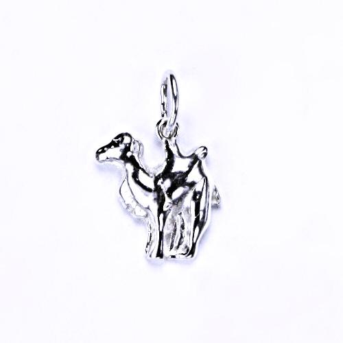 Stříbrný přívěšek velbloud, stříbrné šperky, P 871