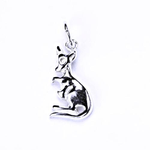 Stříbrný přívěšek, stříbrné šperky, P 889 klokánek