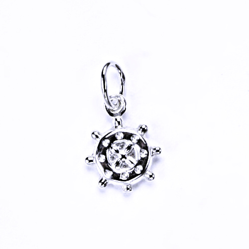 Stříbrný přívěšek, stříbrné šperky, kormidlo P 890