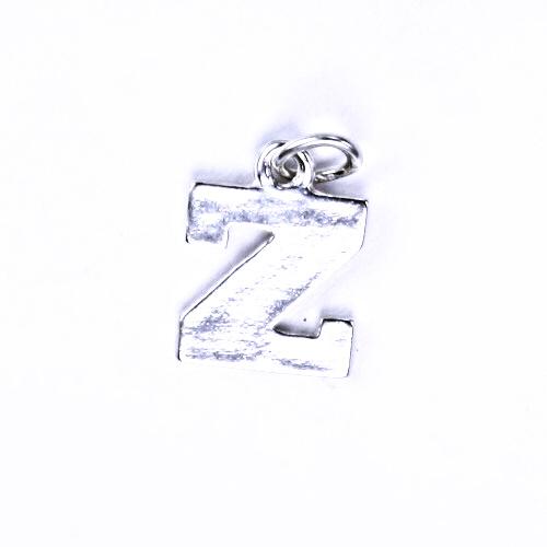 Stříbrný přívěšek Z, stříbrné šperky P 904