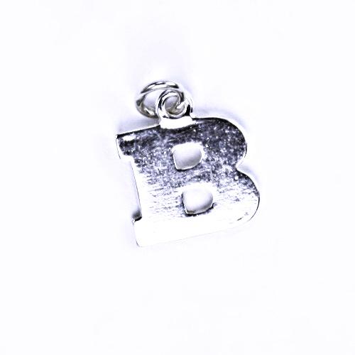 Stříbrný přívěšek B, stříbrné šperky P 904