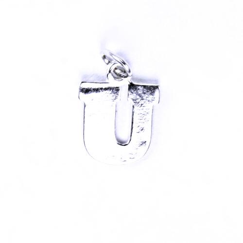 Stříbrný přívěšek U, stříbrné šperky P 904