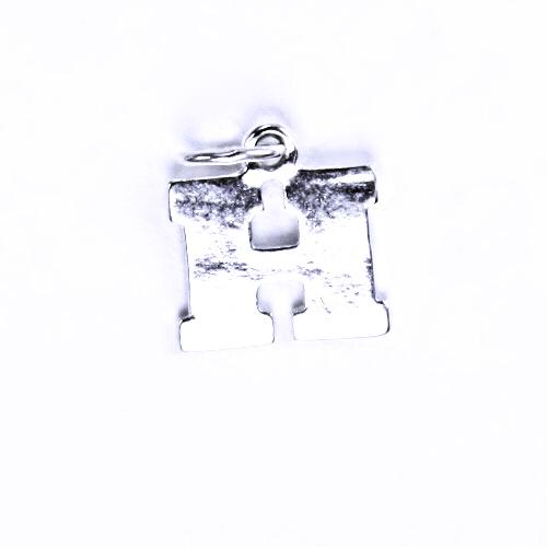 Stříbrný přívěšek H, stříbrné šperky P 904