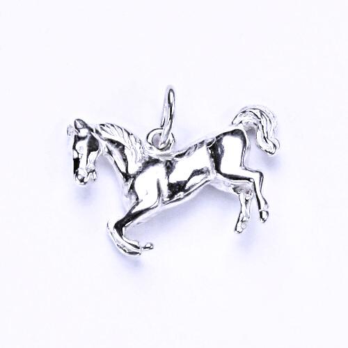 Stříbrný přívěšek - figurka kůň, P 66