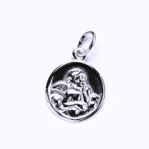 Stříbrný přívěšek, stříbrné šperky, andělíček P 775