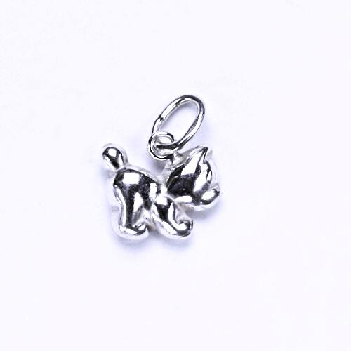 Stříbrný přívěšek kočička, kočka, stříbrné šperky, P 769