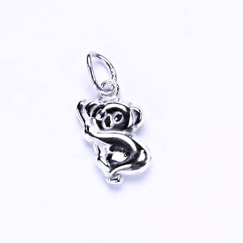Stříbrný přívěšek koala, stříbrné šperky, P 768
