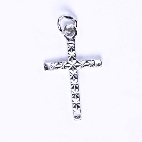 Stříbrný přívěšek křížek, stříbrné šperky, P 795