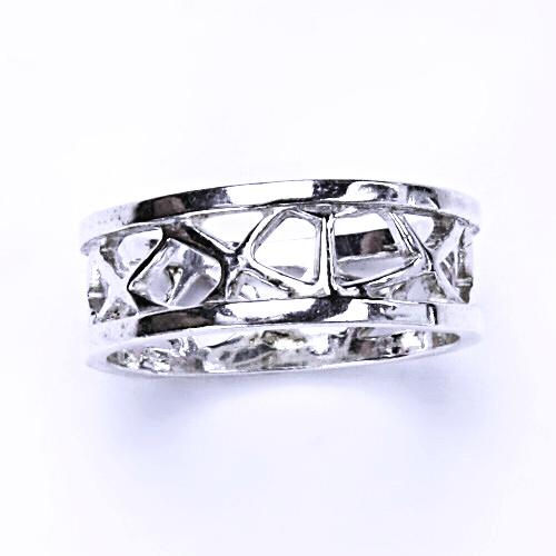 Stříbrný prsten, stříbro, prstýnek ze stříbra, T 859