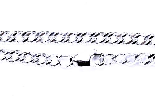 Stříbrný řetízek,řetízky ze stříbra, šperky, rombo 45 cm 0,60