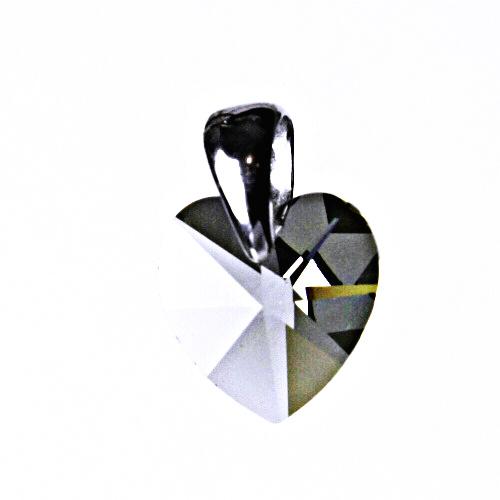 Stříbrný přívěšek,šperky, Swarovski krystal (lavender) P 1302