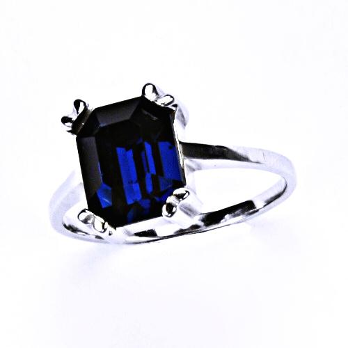 Stříbrný prsten, šperky 3, T 1201