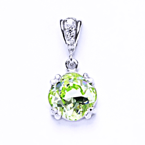 Stříbrný přívěšek,šperky, Swarovski krystal 1, P 1225/2