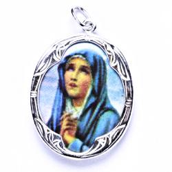 Stříbrný přívěšek, stříbrné šperky P 1013 madonka (D)