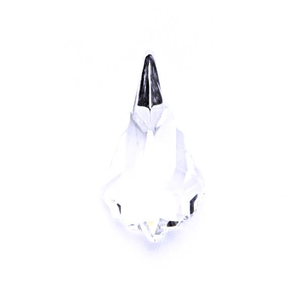 Stříbrný přívěsek s krystalem Swarovski ( 16 mm čirý krystal)