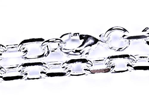 Stříbrný řetízek pánský, silný, 45cm