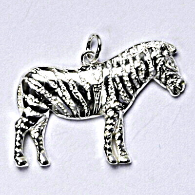 Stříbrný přívěšek, zebra, přívěsek ze stříbra P 190