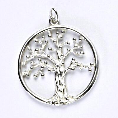 Stříbrný přívěsek, strom života, přívěsek ze stříbra, P 262